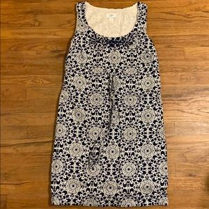 Loft beaded geometric shift dress 10